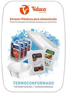 Catalogo de envases de plastico de termoconformado. Viduca