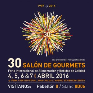 VISIT US IN SALON GOURMETS 2016