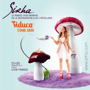 Viduca present at Sirha (Lyon-France) January 2017