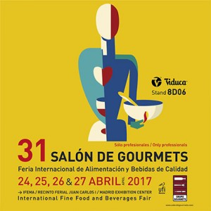 READY TO THE NEXT FAIR EDITION OF SALON GOURMETS (24th-27th APRIL 2017-MADRID)