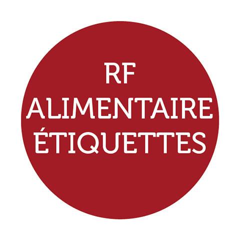 rf alimentaire etiquettes