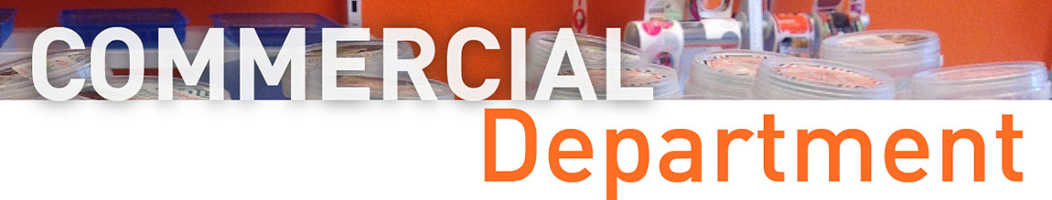 comercial department