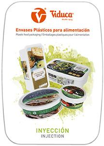 Catalogo envases de plastico de inyeccion. Viduca