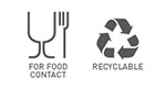 for food contact recyclable